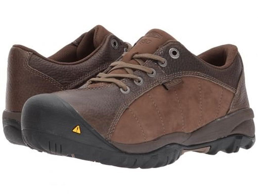 山郡嵐Keen Utility(キーン) レディース 女性用 シューズ 靴 スニーカー 運動靴 Santa Fe AT ESD - Cascade Brown/Shitake [並行輸入品]