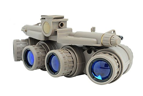 FMA Airsoft Dummy Quad Night Vision Goggles TAN Sand DE Brown GPNVG 18