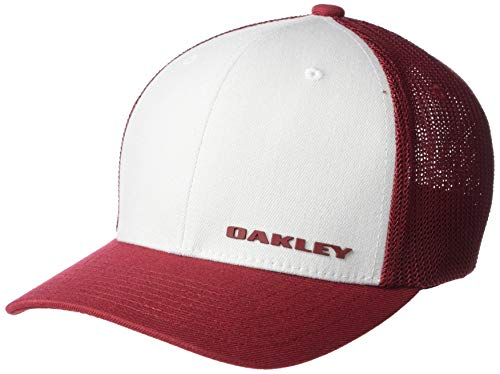 Oakley Trucker Cap Gorro/Sombrero, Tomate Secado al Sol, L/XL para Hombre