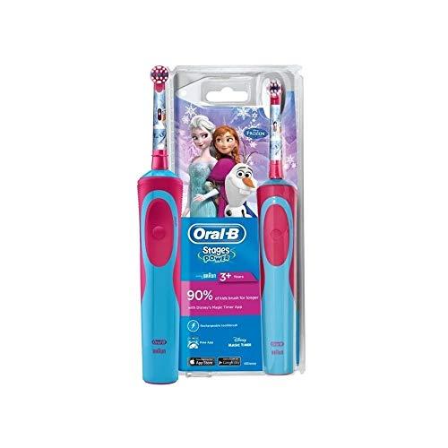 Oral-B Disney Frozen cepillo de dientes electrico, 0 W, 0 Decibelios, Plástico,...