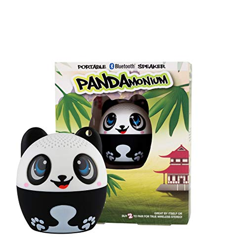 My Audio Pet Mini Bluetooth Animal Wireless Speaker for Kids of All Ages - True Wireless Stereo – Pair with Another TWS Pet for Powerful Rich Room-Filling Sound (Pandamonium)