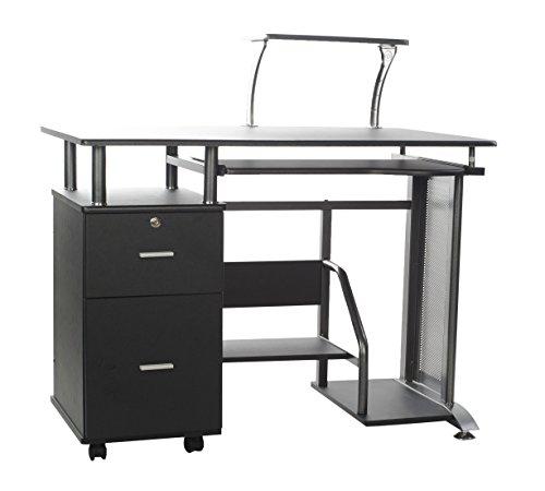 Comfort Products 50–100505Rothmin scrivania per Computer con armadietto.