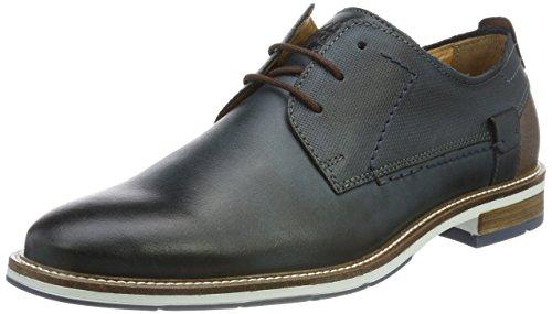 FRETZ men Andrew, Zapatos de Cordones Derby Hombre, Azul (Blue 32), 46 EU