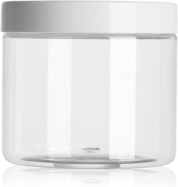 Empty Plastic Clear Cosmetic Jars Stora Makeup Sample Face Cream Gifts Some reservation
