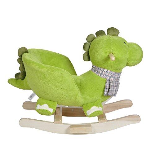 Knorrtoys 40481 – Schaukeltier Dino Olaf mit Sound - 2