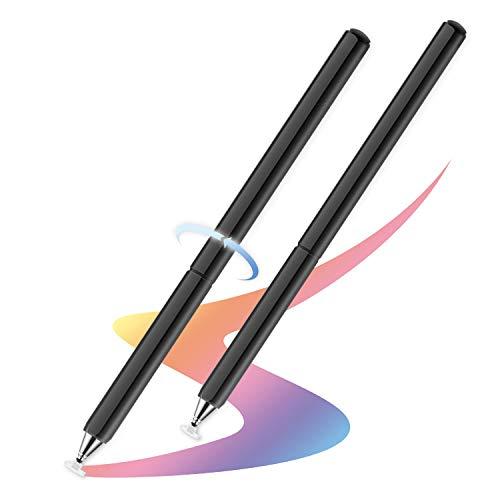 Universal Lápiz, Punta Táctil del Disco Capacitivo Preciso y de Bolígrafos Stylus para Tabletas, iPads, iPad, Teléfono, Samsung, iPhones, Tab y Smartphones