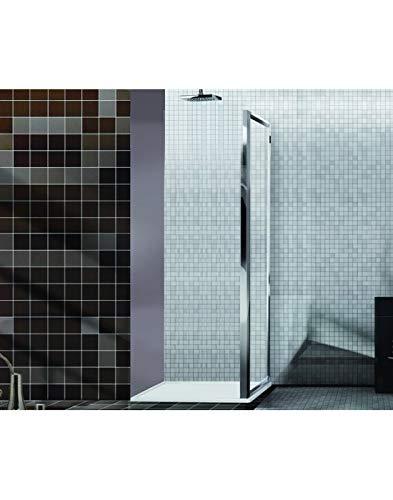 BOX DOCCE 2B - Mampara de Ducha de Cristal Cromado Serie Easy Cm67 ...