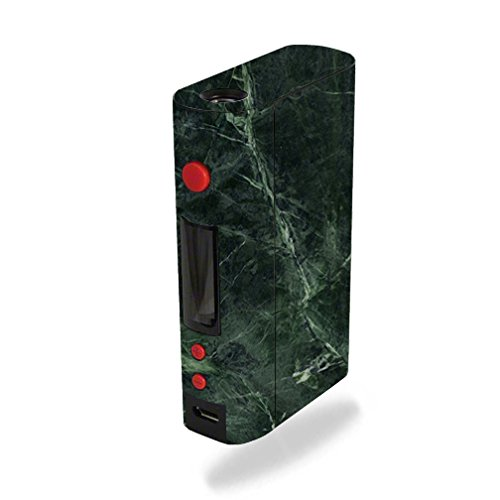 MightySkins Skin Compatible with Kanger KBOX 200W – Green Marble | Protective, Durable, and Unique Vinyl Decal wrap Cover | Easy to Apply, Remove, and Change Styles | Made in The USA
