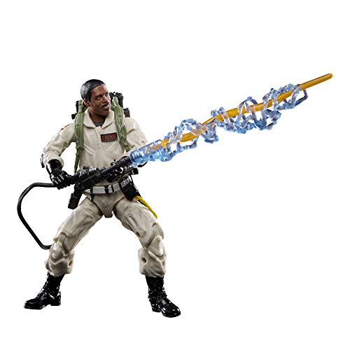 Hasbro Ghostbusters Plasma Series Winston Zeddemore Toy 6-Inch-Scale Collectible Classic 1984 Ghostbusters Action Figure, Toys for Kids Ages 4 and Up