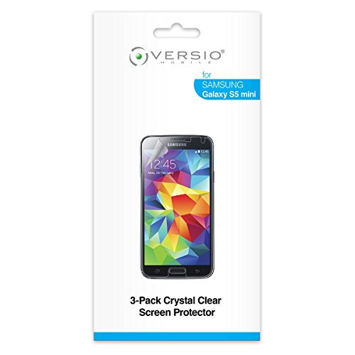 Versio Mobile Clear Screen Protector for Samsung Galaxy S5 Mini - Retail Packaging
