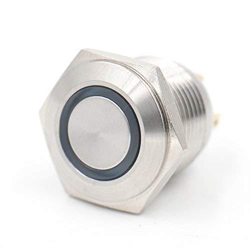 Eagel Eye Schalter, 16 mm, 5/8 Zoll, Metall, 12 V, Grün