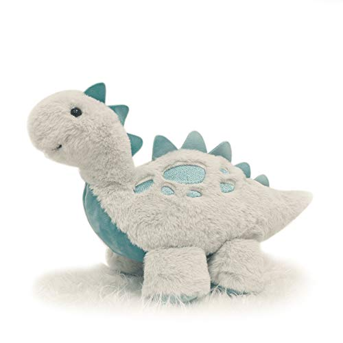 TCBunny Baby Dinosaur Bedtime Stuffed Animal Plush Toy 15quot StephanStegosaurusGrey