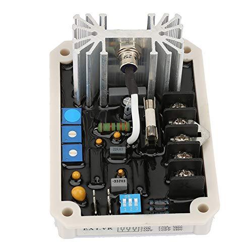 Controlador de regulador de voltaje automático, control de arranque automático de alto rendimiento AVR Generador estable Partes de grupos electrógenos 1/3 fase ajustable 240VAC EA05A