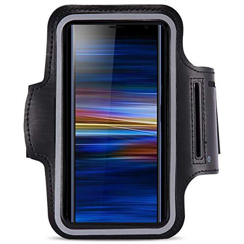 Jogging Tasche kompatibel für Sony Xperia L3 Handy Hülle Sport Lauf Armband Fitnesstasche