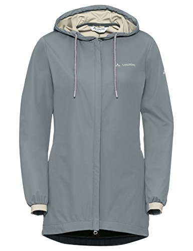 VAUDE Damen Jacke Women's Cyclist Softshell Jacket, pewter grey, 36, 408220990360
