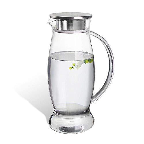 BXU-BG Hervidor de agua de 1500 ml Pyrex de vidrio auténtico para aguas frías (color: A)