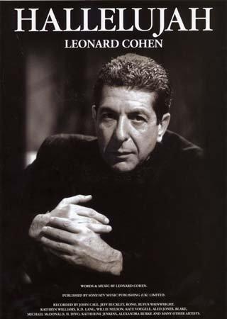 Wise Publications Cohen Leonard-Hallelujah. format-PVG Partitions Pop, Rock,.... Piano chant Guitare