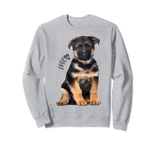 Camiseta de pastor alemán Shepard Dog Mom Dad Love Pet Puppy Tee Sudadera