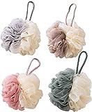 Paquete de 4 esponjas de baño Lytic (50 gramos, degradado), 4 piezas de traje/bicolor