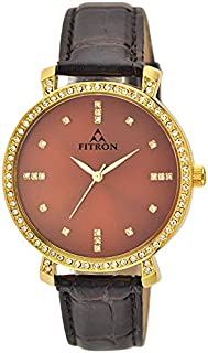 Watch for Men by FITRON, Leather, Analog, FT7751M010707