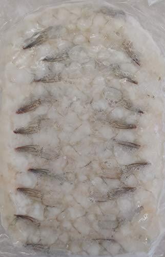 16-20サイズ 尾付 伸ばし海老 ( バナメイ種 ) 20尾 天ぷら、海老フライ等 冷凍 業務用