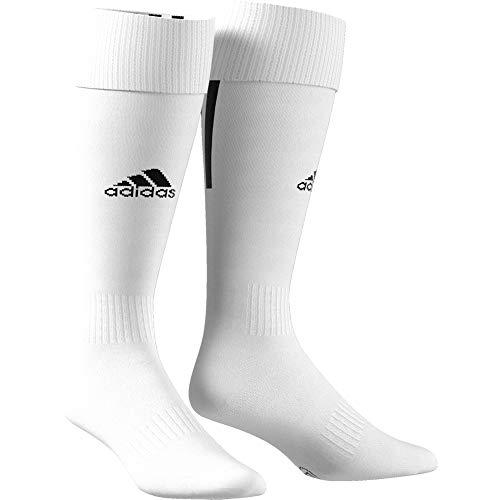 adidas Santos 18, Calzettoni Uomo, Bianco/Nero, 43-45