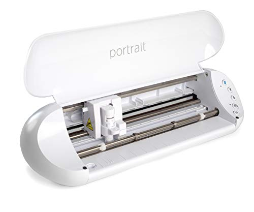 "Silhouette Portrait 3 with Bluetooth Wireless Cutting, 8x12"" Cutting mat, AutoBlade 2, 50 Designs, Silhouette Studio Software and The Silhouette Go App"