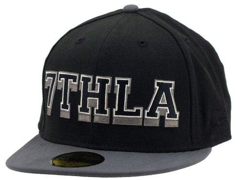 New era 7thla Cap The Hundreds Collabo Black/Grey - 7 1/4-58cm