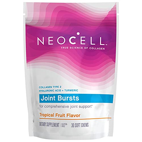NeoCell Joint Bursts, Type 2 Hydrolyzed Collagen Plus Joint Support,...