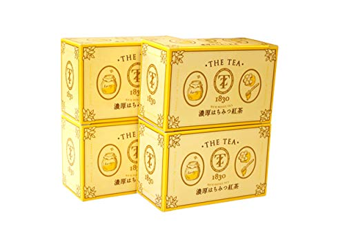 TYAZEN(茶善) 濃厚はちみつ紅茶 4箱(14包×4箱)