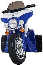 homcom Triciclo Moto Elettrica per Bambini con Certificato, Blu