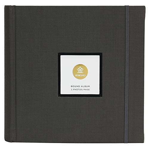 Kinsho KIN3205 Bound Albums, 8.5' x 9', Stone