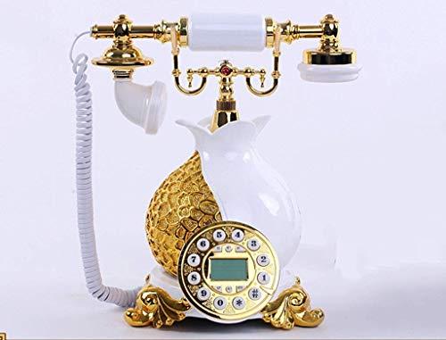 Dianz Muebles/teléfono/decoración Teléfono antiguo, estilo europeo/establecimiento de moda/aparatos telefónicos/identificación del teléfono móvil de 18x18x29 cm,# 2