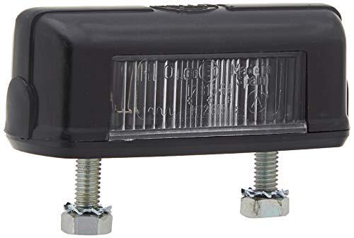 HELLA 2KA 001 389-101 Kennzeichenleuchte - C5W - 12V/24V - Lichtscheibenfarbe: glasklar - Anbau - Stecker: Flachstecker - Einbauort: hinten/links/rechts