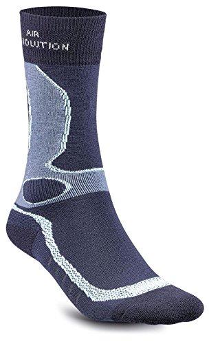 Meindl Unisex Socken, marine-türkis, 40-43 (M)