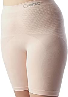 Chaffree Womens Anti Chafing Boy Shorts, Plus Size Long Leg Briefs, Prevent Thigh Rubbing Underwear, Breathable Moisture Sweat Control Exercise Gym Brief, Seamless Ladies Knickers Panties, 1PK