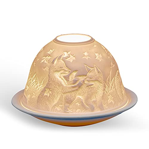 Welink Playful Foxes Tealight Candle Holder