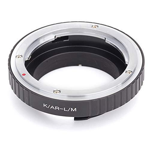 Pixco Mount Adapter-Ring Objektiv Adapter für Konica AR Objektiv an Leica M Kamera Schrauben Leica Leica M 240Monochrom M 220M9-P M9M8.2M9M7M6M5M4M3(Konica–Leica M)