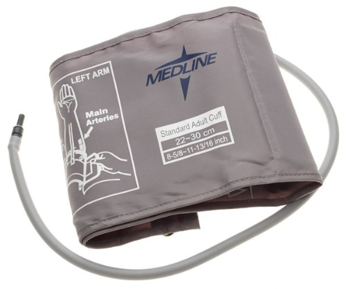 Medline-MDS9971 Blood Pressure Monitor Cuff, Latex Free, Adult