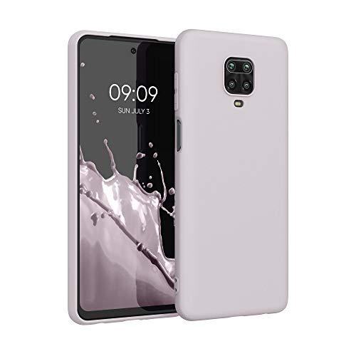 kwmobile Hülle kompatibel mit Xiaomi Redmi Note 9S / 9 Pro / 9 Pro Max - Hülle Silikon - Soft Handyhülle - Handy Hülle in Dream of Cotton