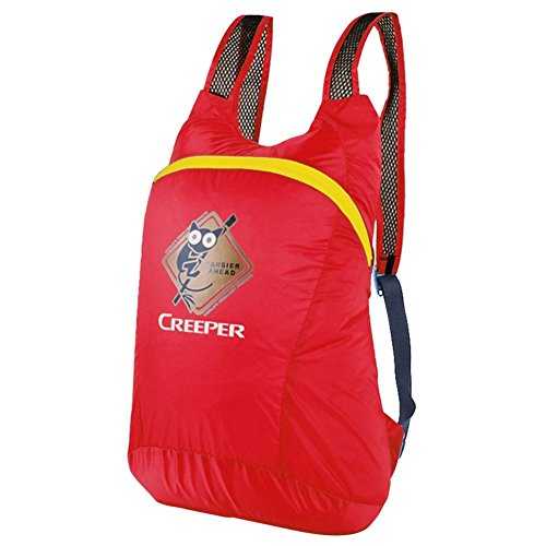 Backpack éclairage léger Sac à bandoulière/Pliante Fixation Sac d'alpinisme/Petit Sac à Dos d'équitation/Sac Skin-Red 20L