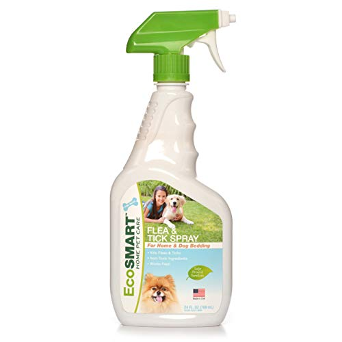 EcoSMART Flea & Tick Killer for Home and Pet Bedding, 24 oz. Ready-to-Spray Bottle