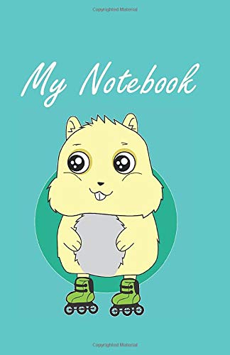 My Notebook: : Inline skates notebook checkered DIN A5