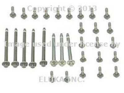 for BMW (06-10) Engine Oil Pan Bolt Kit (Aluminum) OEM