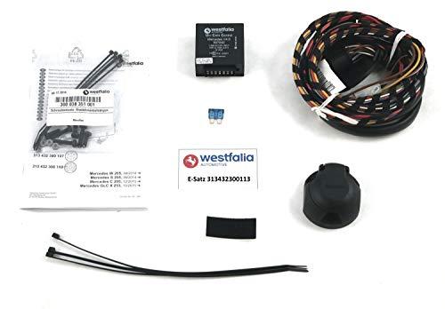WESTFALIA Automotive 313432300113 Juego eléctrico de 13 Polos y específico para Mercedes Sedan/Combi (W205/S205) 03/14-06/18, Clase C Coupe/Cabrio (C205/A205) 10/15-06/18, GLC (X253) (BJ 09/15-06/18)