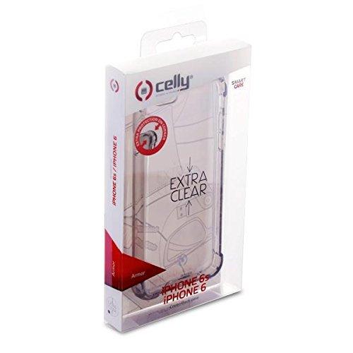 Celly Armor Cover per iPhone 6/6S, Nero