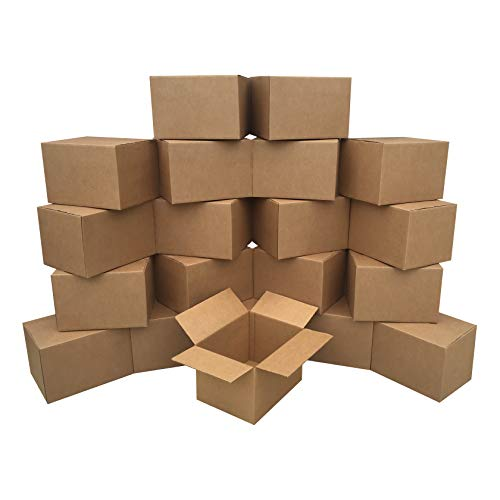 of place to get boxes for movings Amazon Basics Moving Boxes - Medium, 18