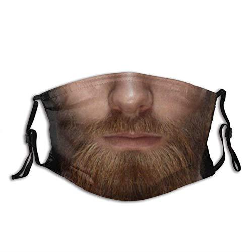 Ma-sks - Pasamontañas reutilizable con 2 filtros unisex para la cara de la barba Ma-sk