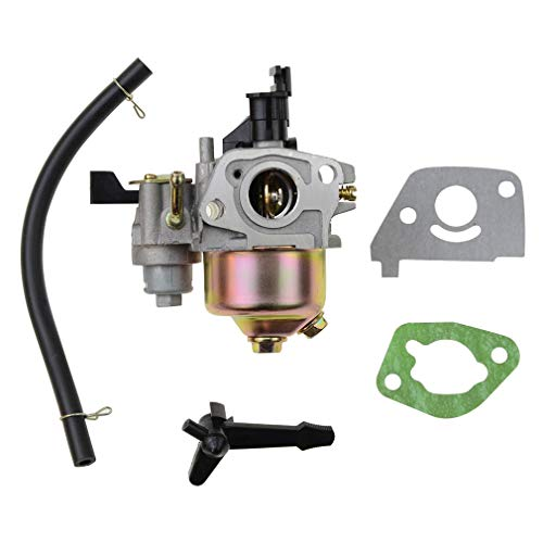 GOOFIT Carburador 19 Pz19 Filtro Minimoto Reemplazo Para Gx120 Gx160 Gx168 Gx200 5.5hp 6.5hp Generador Motor Pit Bike Ciclomotor Y Scooter Plata
