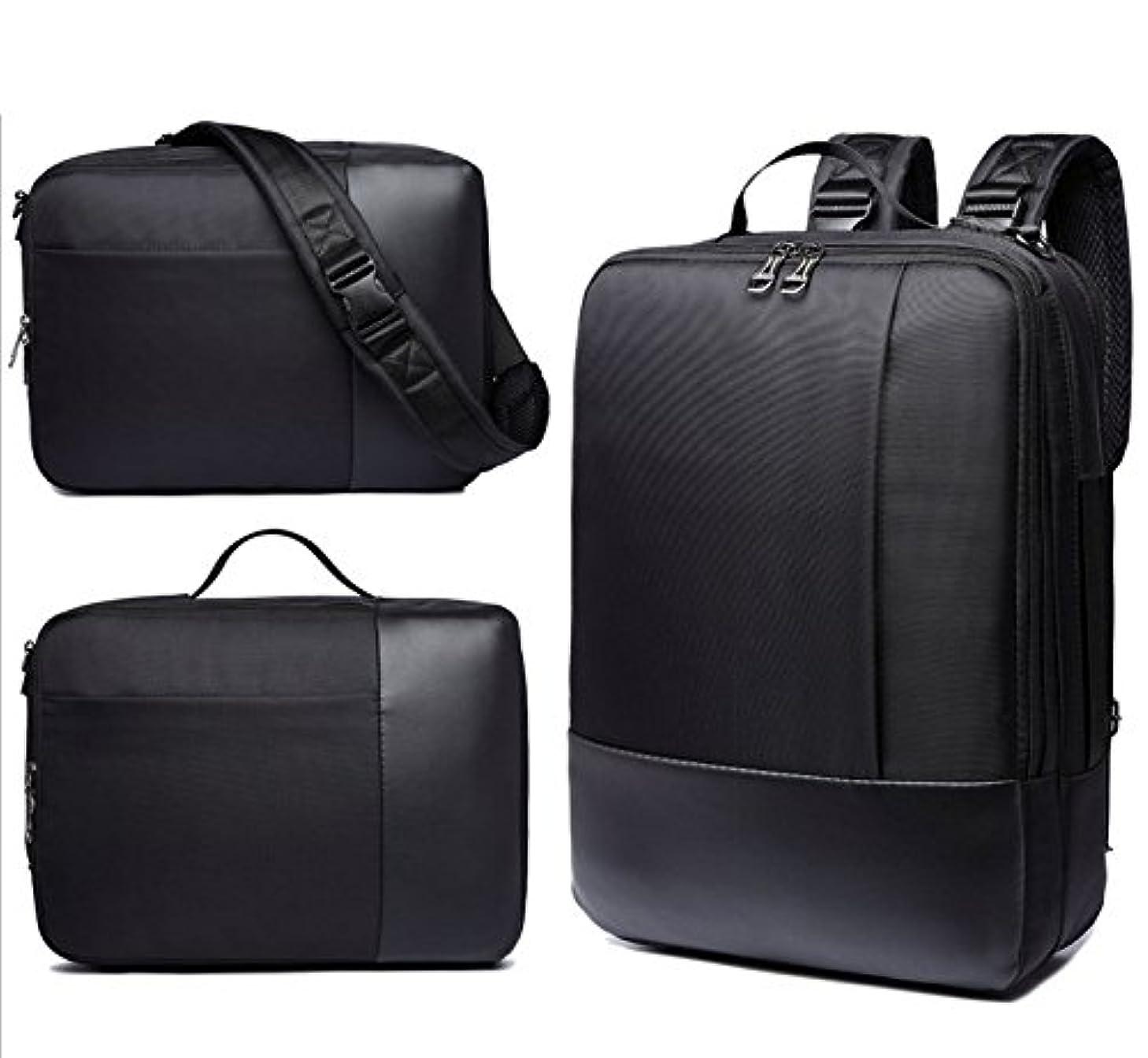 eBuymore 3 in 1 Hybrid Backpack Briefcase Messenger Shoulder Bag Case for 13.3'' 14'' 15'' 15.4'' 15.6